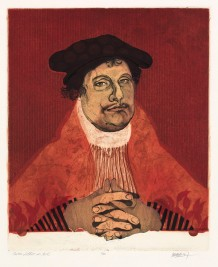 """Martin Luther in Red,"" Diego Lasansky"