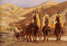"""The Journey of the Magi"" (1894), by James Tissot (1836-1902), Minneapolis Museum of Art"