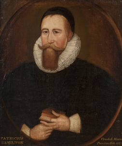 The only known portrait of Patrick Hamilton, painted by John Scougal (1645-1730).