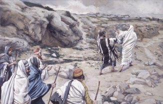 """Get Thee Behind Me, Satan"" (1886-1896), by James Tissot (1836-1902). Brooklyn Museum."