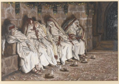 """The Wise Virgins"" (1886-1894), by James Tissot (1836-1902). The Brooklyn Museum."
