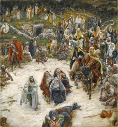 """What Our Lord Saw from the Cross"" (1886-1894), by James Tissot (1836-1902). Brooklyn Museum."