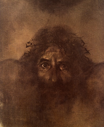 Whenever I think of the suffering of Christ, I am always drawn to this illustration from the sainted Rien Poortvliet's He Was One of Us (Baker Academic, 1974). Poortvliet really captures the unimaginable depth of sorrow experienced by Christ, the existential anguish that you and I can't even fathom. And he bore it all for us.