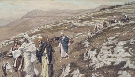 """Jesus Traveling (Jésus en voyage)"" (1886-1896), by James Tissot (1836-1902). The Brooklyn Museum. Public Domain."