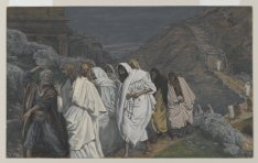 """The Protestations of St. Peter/Protestations de Saint Pierre"" (1886-1894), by James Tissot (1836-1902). Brooklyn Museum. Public Domain."