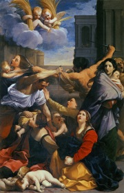 """Massacre of the Innocents"" (1611), by Guido Reni (1575-1642). Pinoteca Nazionale Bologna. Public Domain."