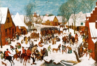 """Massacre of the Innocents"" (1565-1567), by Pieter Brueghel the Elder (ca. 1526-1569). Windsor Castle. Public Domain."