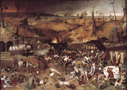 """The Triumph of Death"" (ca. 1562), by Pieter Bruegel the Elder (ca. 1526/1530–1569); Madrid, Museo Del Prado. Public Domain."
