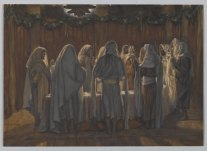 """The Last Supper"" (1886-1894), by James Tissot (1836-1902). Brooklyn Museum. Public Domain."