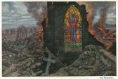 """""""Das Kirchenfenster"""" (1915) by Hans Baluschek (1870-1935). Public Domain."""