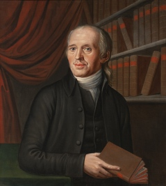 """Rev. Justus Henry Christian Helmuth"" (ca. 1795) by John Eckstein, (1736 - 1817). National Portrait Gallery, Smithsonian Institution. Public Domain."