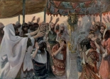 """The Golden Calf"" (pre-1903) by James Tissot (1836-1902). Public Domain."