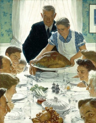 """Freedom from Want"" (1943) by Norman Rockwell (1894-1978). Norman Rockwell Museum. Public Domain."